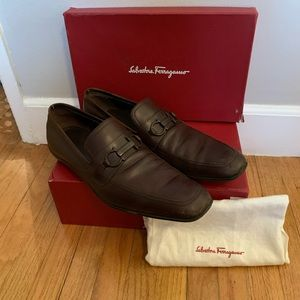 Salvatore Ferragamo men's runner loafer 13 D